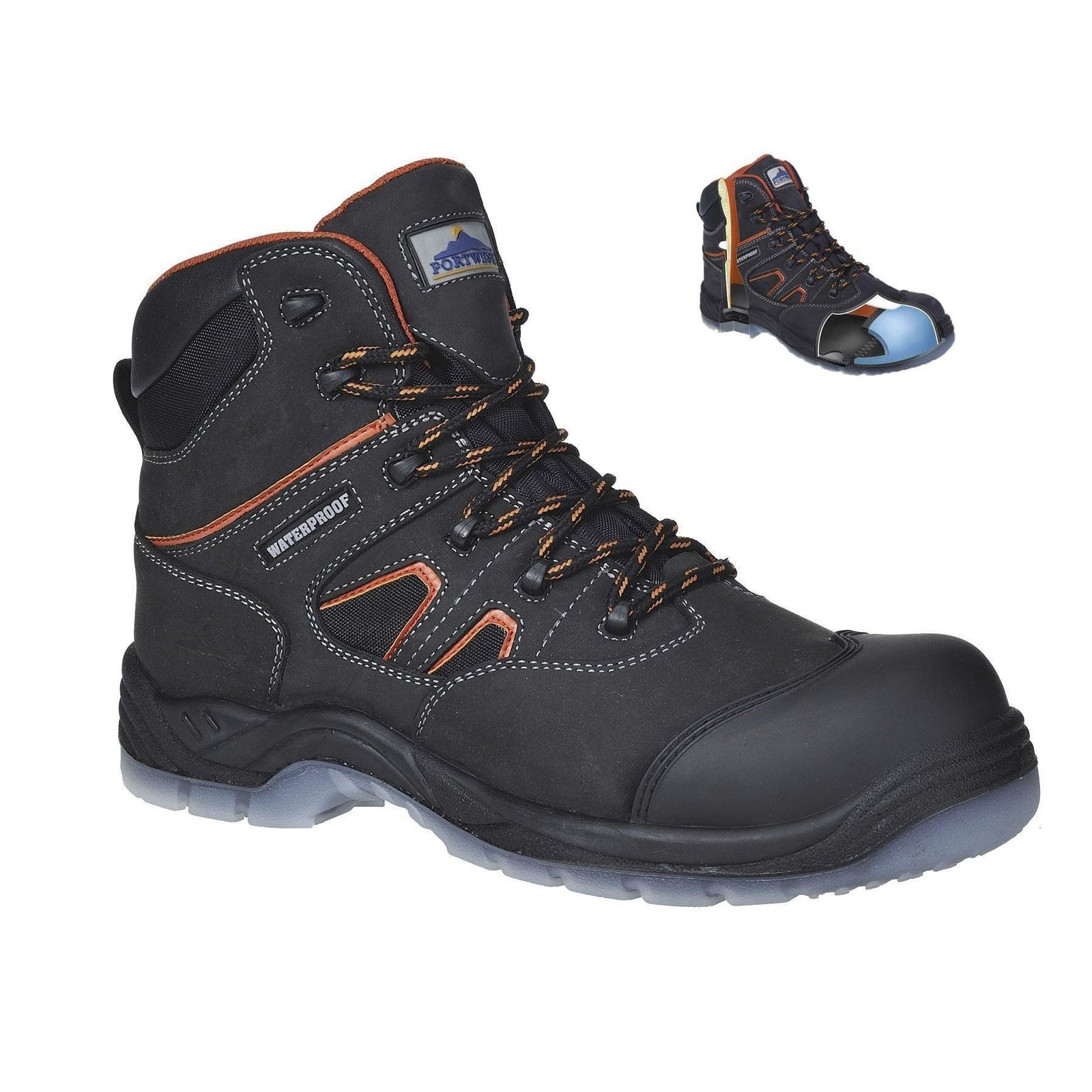 Portwest Compositelite All Weather Boot S3 WR FC57 - reid outdoors