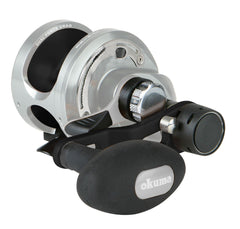 Okuma Andros A-12S IIa - 2 speed a 6+1bb 6.4:1 high Saltwater Reel - reid outdoors