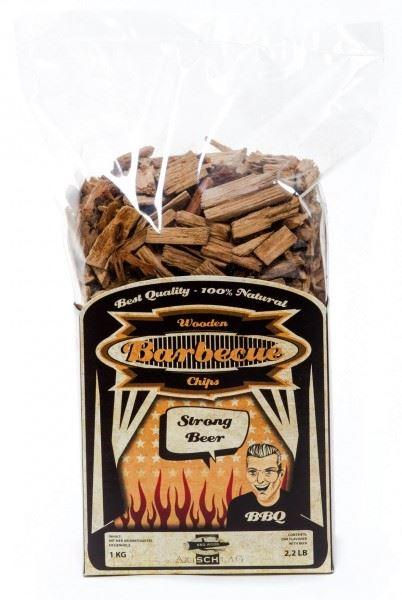 Axtschlag BBQ Wood Chips[Strong Beer 1KG] - reid outdoors