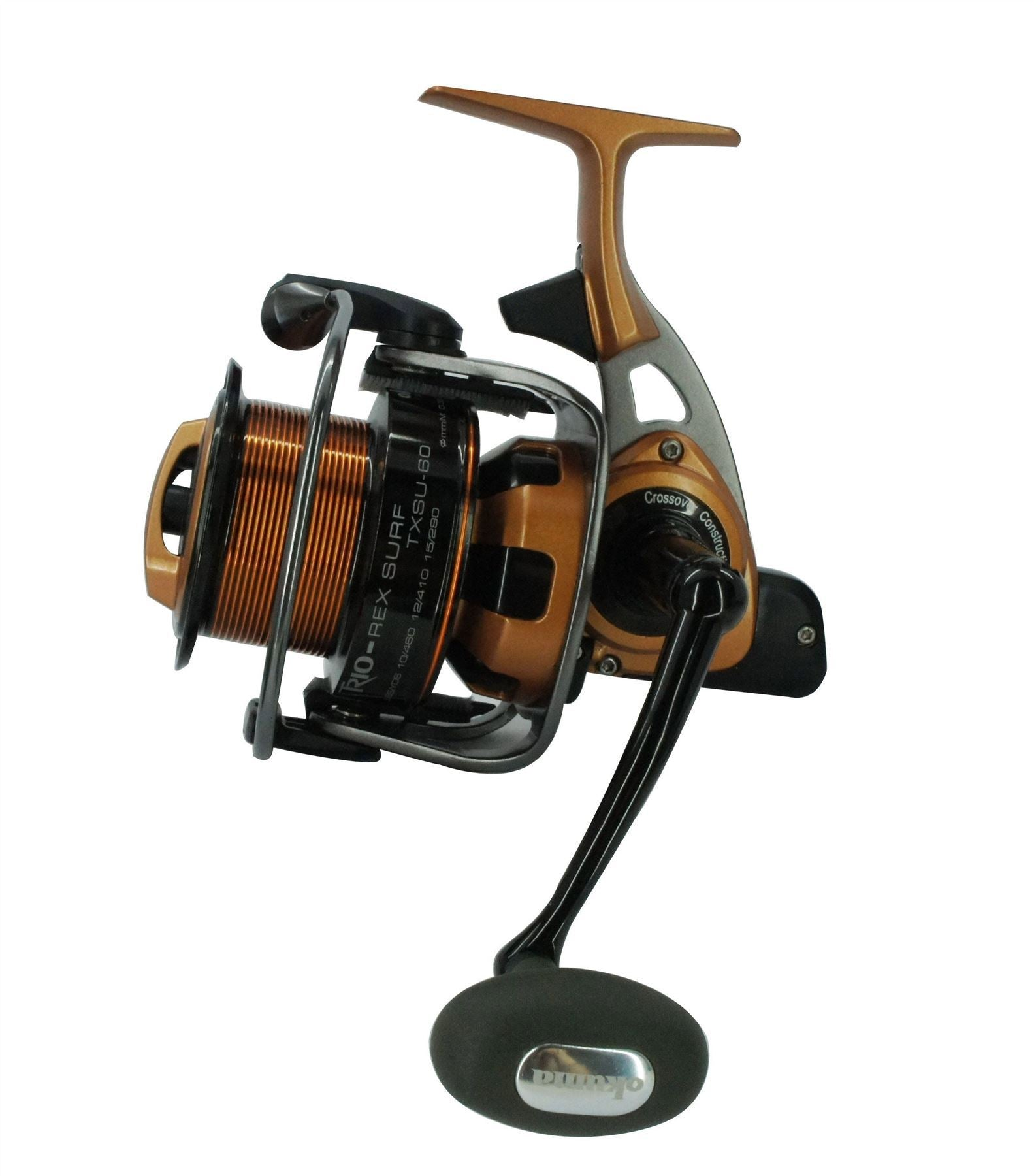 Okuma Trio Rex Surf-TXSU-60 FD 4+1bb Carp/Surf Reel - reid outdoors