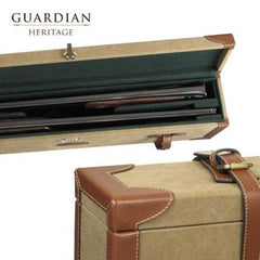 Guardian Heritage Canvas Motor Double Shotgun Case - reid outdoors