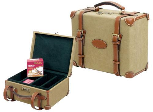 Guardian Heritage Loaders Case (Sandstone Canvas & Tan Leather) - reid outdoors
