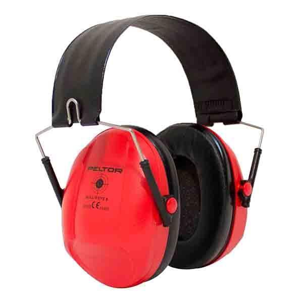 3M Deutschland Bull's Eye XH001651310 H515FRD Ear Muffs Red [Tools & Hardware] (JR) - reid outdoors