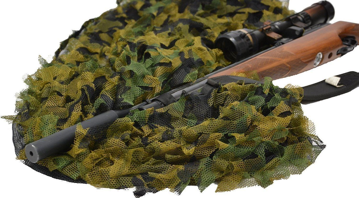 12 x half shell high defo pigeon decoys + 4m x 1.5m premium camo net - reid outdoors