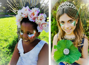 Kid's Party Ideas with Mirror Moon Eco-Friendly Glitter