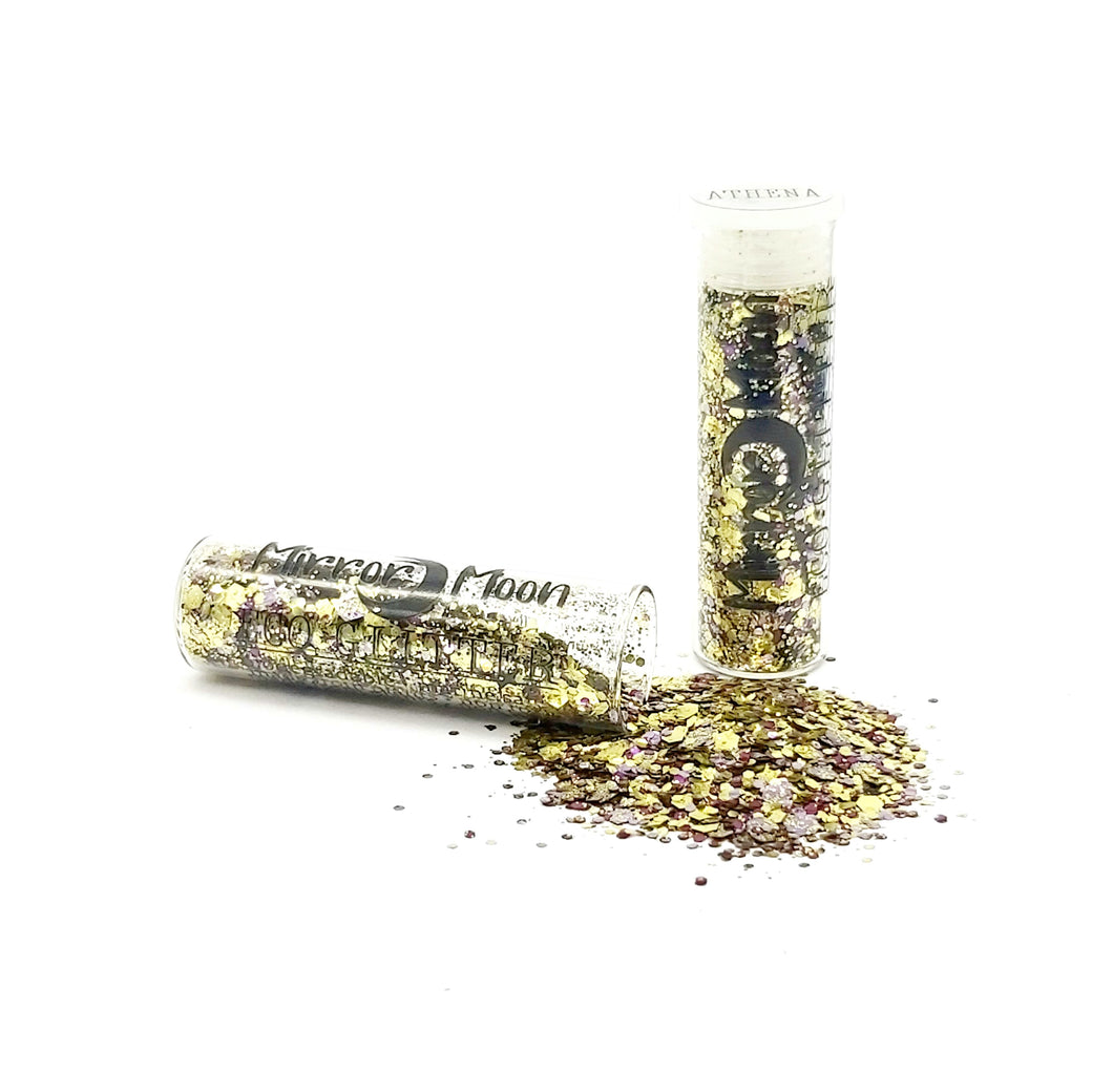 Biodegradable Eco-Glitter Goddess Blend ~ Athena