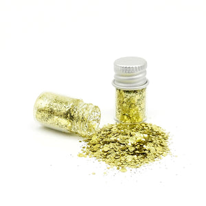 Biodegradable Eco-Glitter Gold Dust Blend
