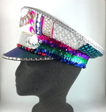 The Rainbow Captain Hat SOLD