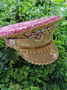 The India Rose Captain Hat