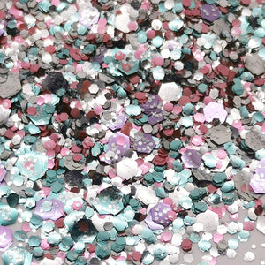 Biodegradable Eco-Glitter Fantasy Blend ~Unicorn Candy