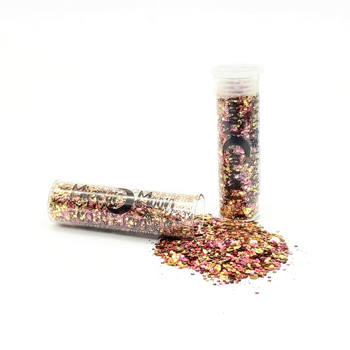 Biodegradable Eco-Glitter Fantasy Blend ~ Vegas Sunrise