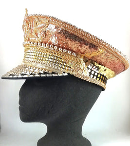 Festival Hats ~ The Gold Digger Captain Hat