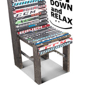 Hockey Stick Pub Chair