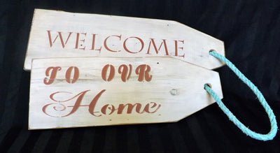 Recycled Wood Product - Gift Tag Sign