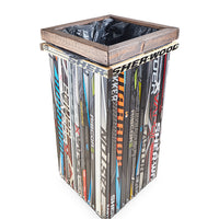 Hockey Stick Garbage Bin