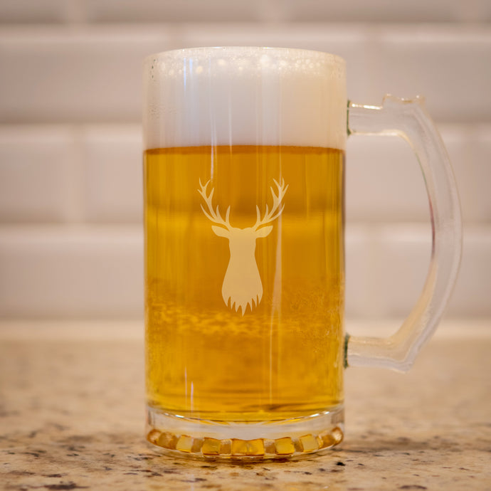 Stag Beer Steins (Set of 2)