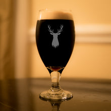 Deer Stag Porter Stout Glass