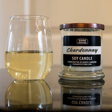 Chardonnay Candle in a 12-Ounce Reusable Glass