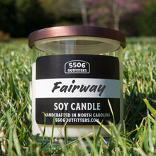 Fairway Golf Candle in 12-Ounce Reusable Cocktail Glass