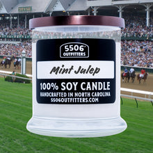 Mint Julep Kentucky Derby Candle in a 12-Ounce Reusable Glass