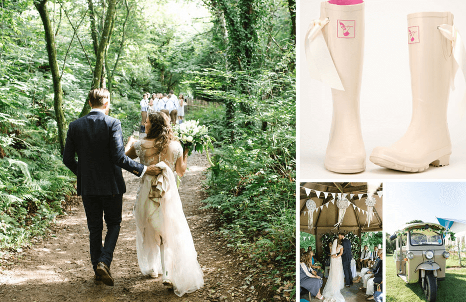 Top Wedding Wellies