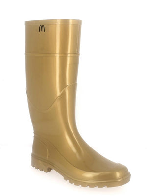 Evercreatures - Evercreatures Gold Wellies - PVC Gold