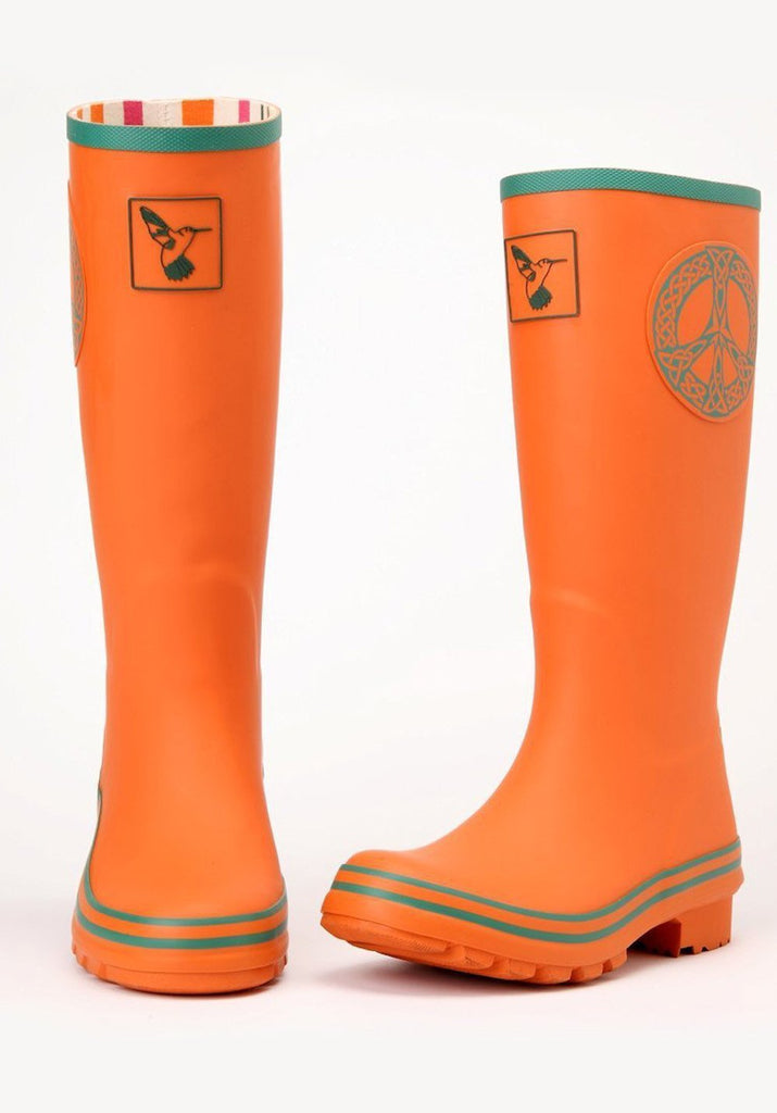 Evercreatures Celtic Peace Tall Wellies - Evercreatures wellies