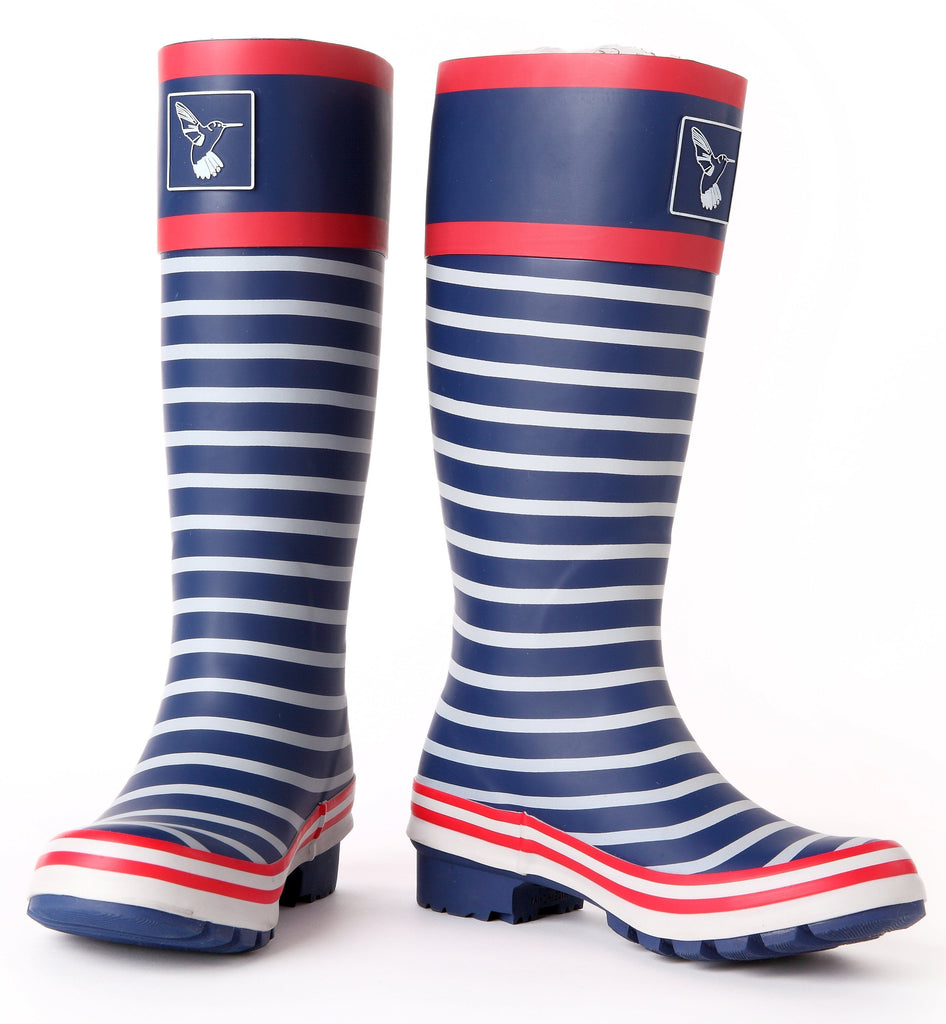 Evercreatures In The Navy Tall Wellies - Evercreatures wellies
