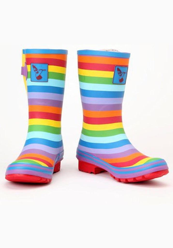 Evercreatures Rainbow Short Wellies - Evercreatures wellies