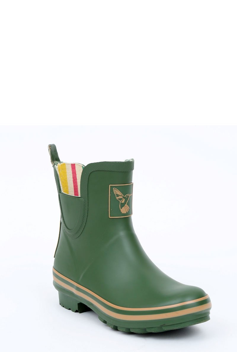 Evercreatures - Evercreatures Green Meadow Ankle Wellies
