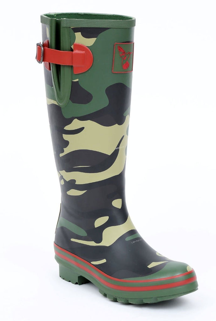 Evercreatures Camouflage Tall Wellies - Evercreatures