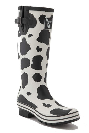 Evercreatures Cow Tall Wellies - Evercreatures wellies