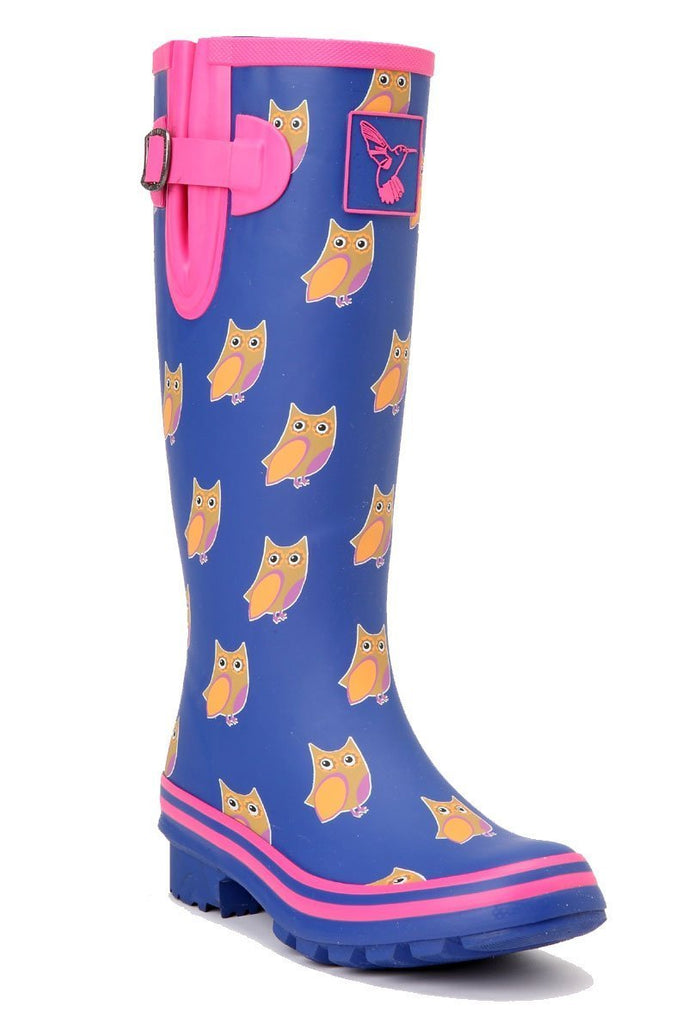 Evercreatures Owl Tall Wellies - Evercreatures