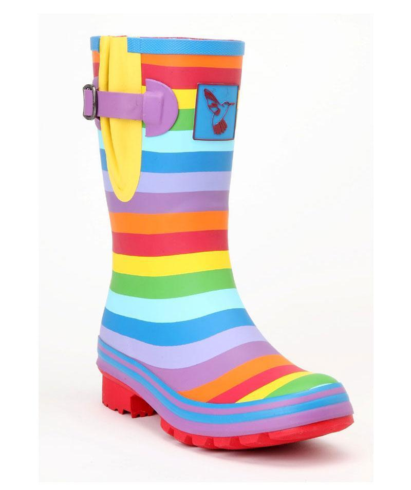 Evercreatures Rainbow Short Wellies - Evercreatures