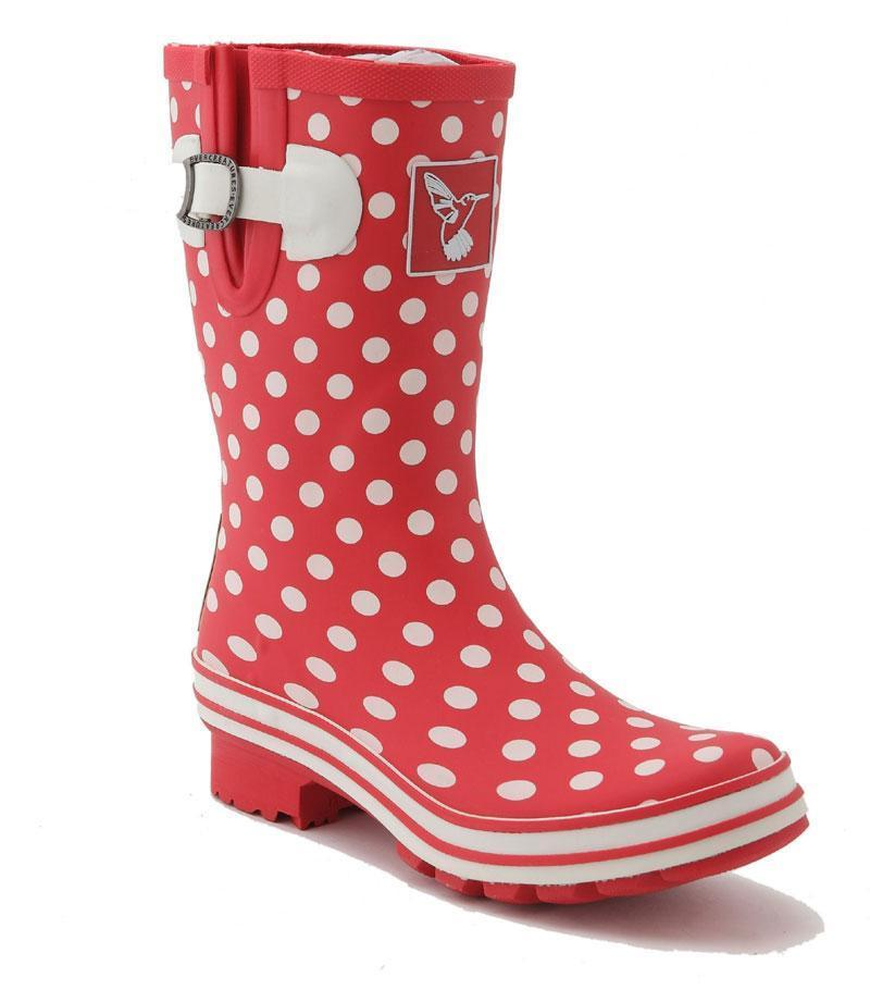 Evercreatures Polka Dot Short Wellies - Evercreatures wellies