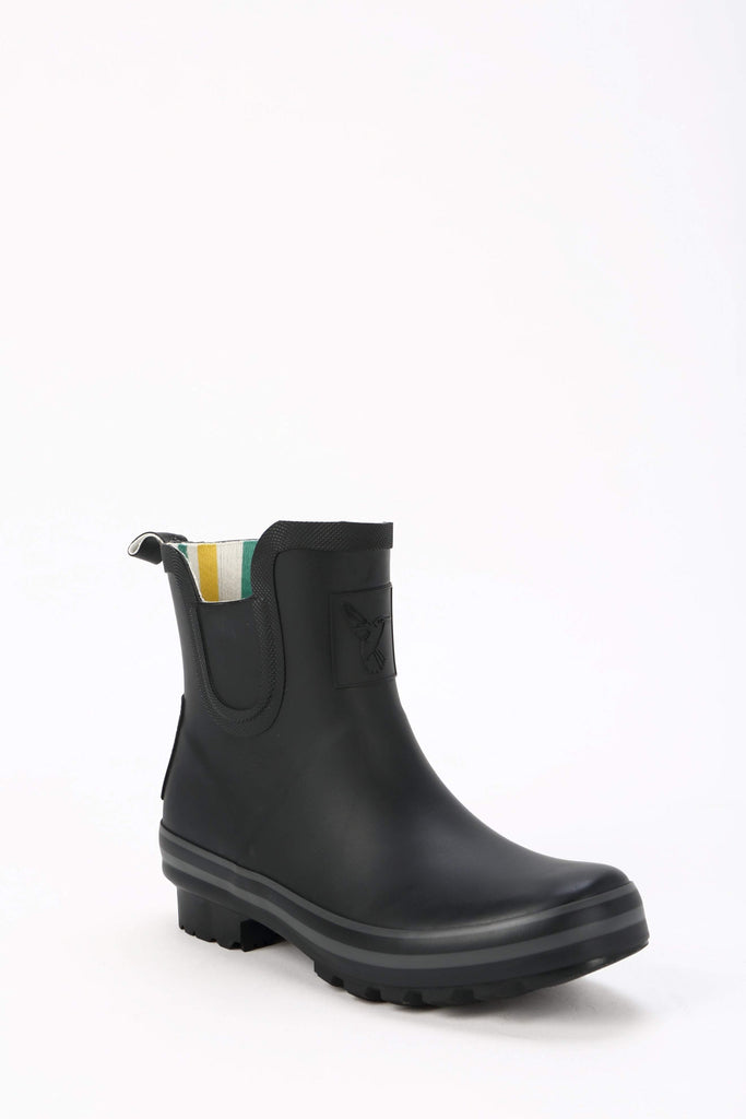 Evercreatures All Black Plain Meadow Wellies - Evercreatures wellies