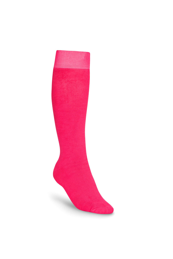 Bonsai Eco Bamboo Cotton Welly Socks - Pink Punch