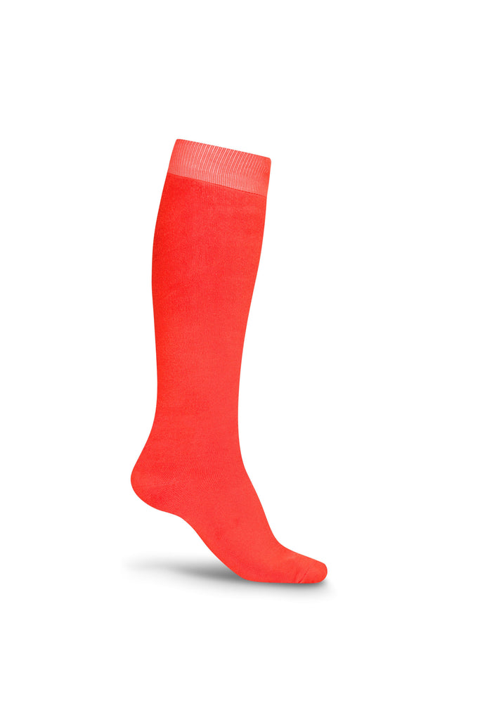Bonsai Eco Bamboo Cotton Welly Socks - Just Orange - Evercreatures wellies