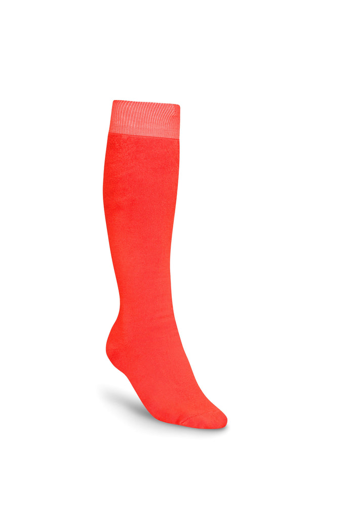 Bonsai Eco Bamboo Cotton Welly Socks - Just Orange