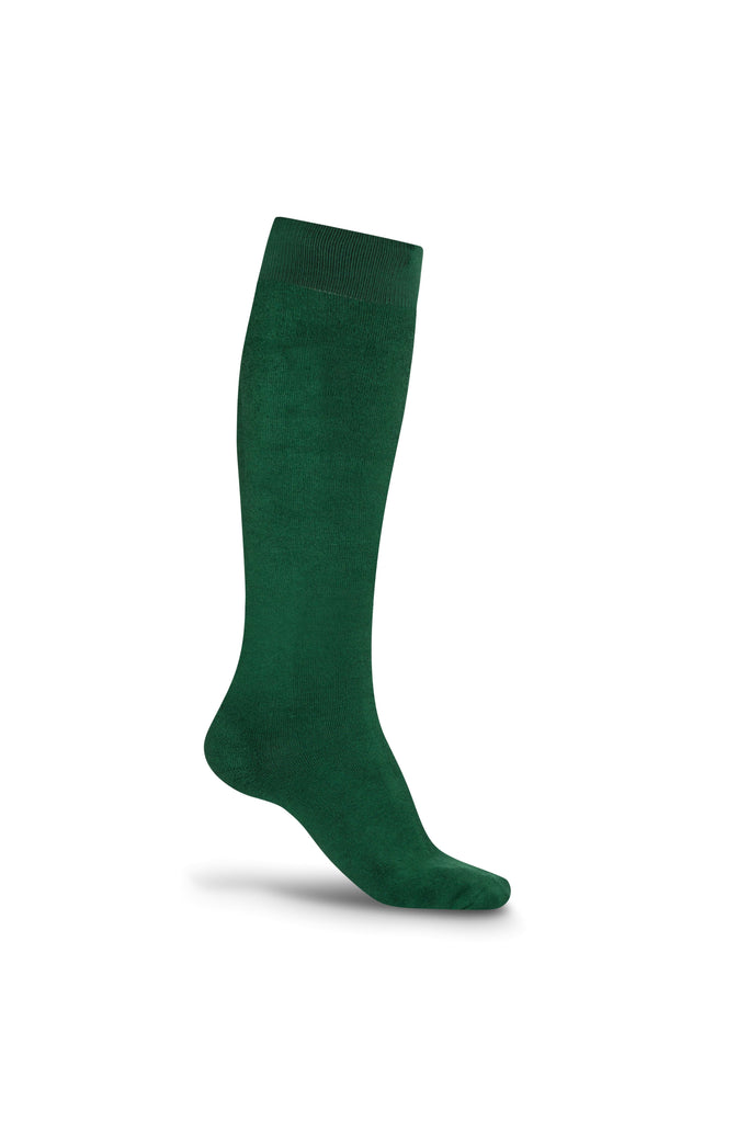 Bonsai Eco Bamboo Cotton Welly Socks - Bonsai Green - Evercreatures wellies