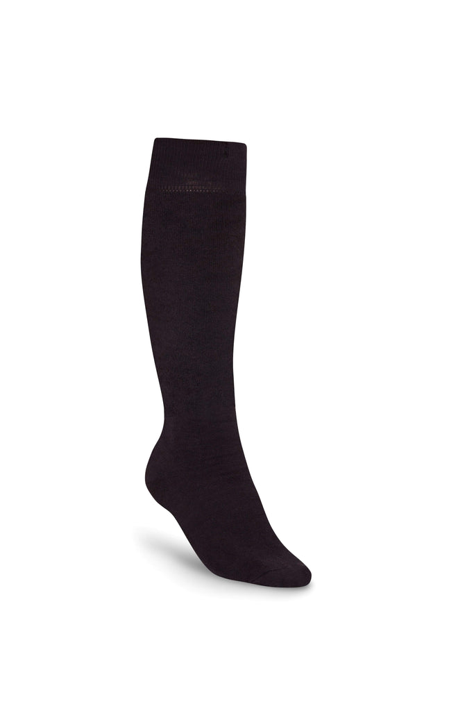 Bonsai Eco Bamboo Cotton Welly Socks - Black Jack - Evercreatures wellies