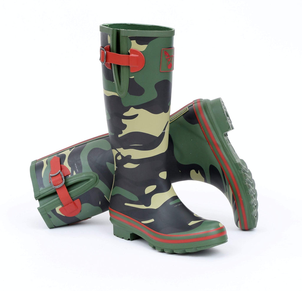 Evercreatures Camouflage Tall Wellies - Evercreatures wellies