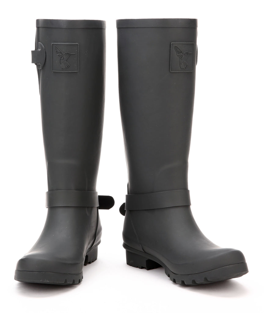 Evercreatures Triumph Charcoal Tall Wellies - Seconds
