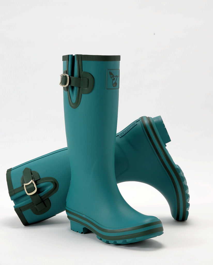 Evercreatures Deep Forest Tall Wellies - Evercreatures wellies