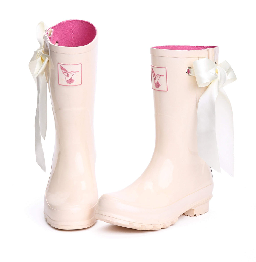 Evercreatures IDO Wedding Short Wellies - Evercreatures wellies