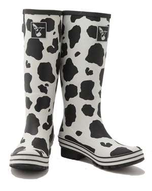 Evercreatures Cow Tall Wellies - Seconds