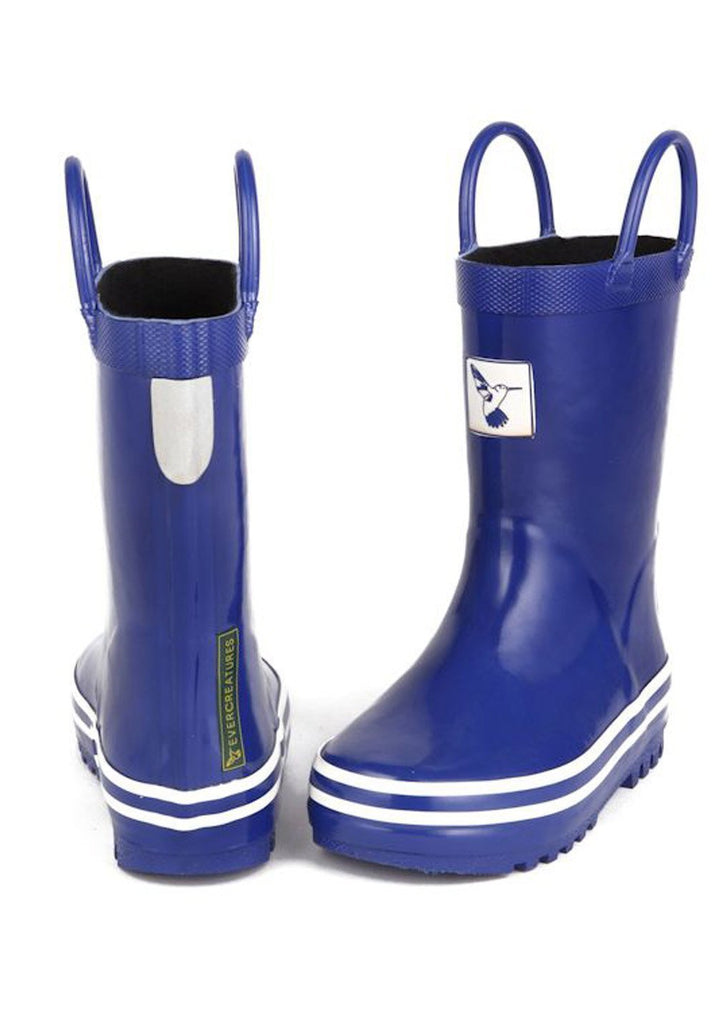 Little Creatures Blue Kids Wellies - Evercreatures wellies