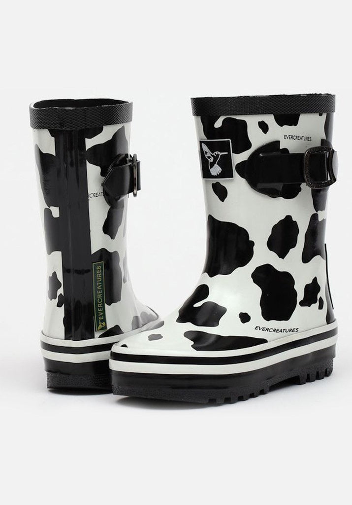 Little Creatures Cow Kids Wellies - Evercreatures wellies