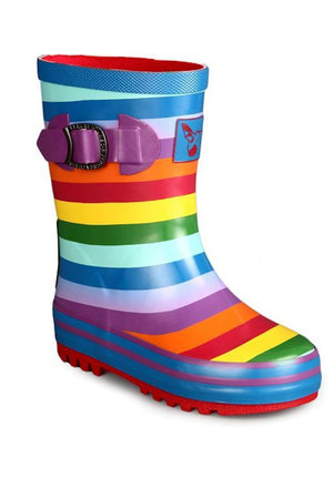 Little Creatures Rainbow Kids Wellies - Evercreatures wellies