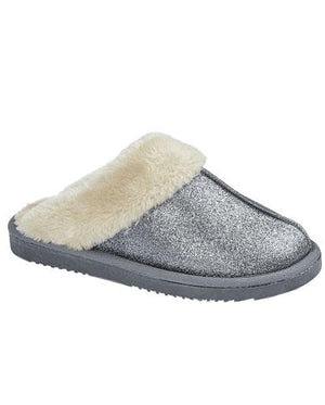Evercreatures - Twinkle Grey Blue Sparklie Slipper - Grey Blue